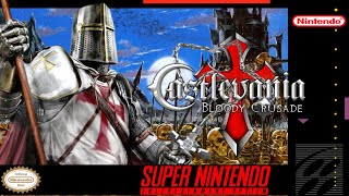 Castlevania: The Bloody Cruṡade - Hack SNES