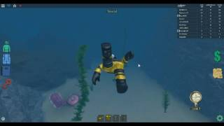 Roblox scuba diving at quill lake how to get power suit hazmat suit required
