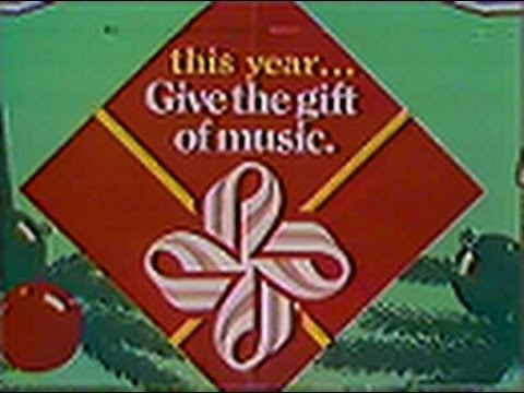 Venture  Give the Gift of Music Commercial #2, 1981
