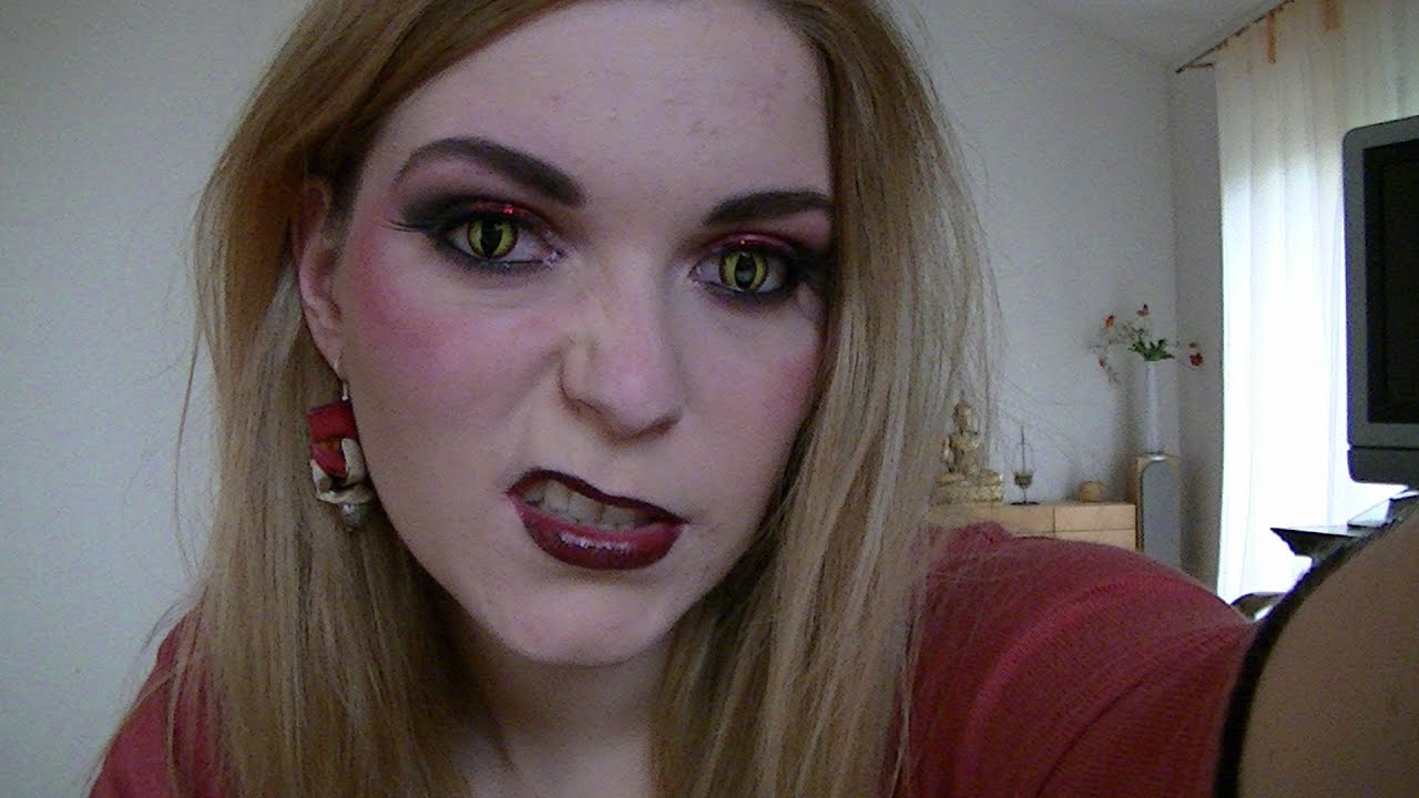 Maquillage D 39 Halloween Diablesse Youtube