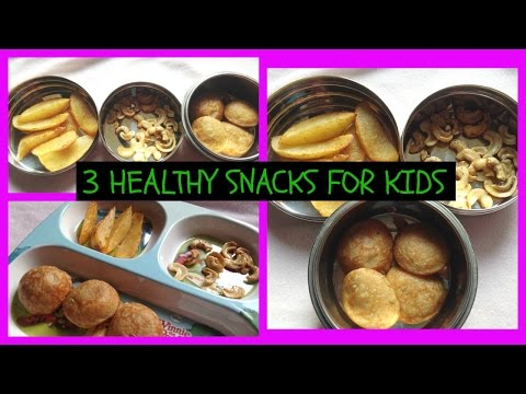 3 HEALTHY SNACKS / HEALTHY SNACK IDEA FOR KIDS