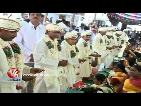 Mass Marriages Conducted by GHMC Employees Union - Hyderabad