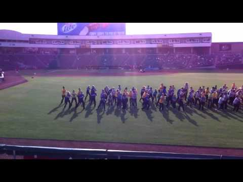 Lichen Group dance team at Raley Field