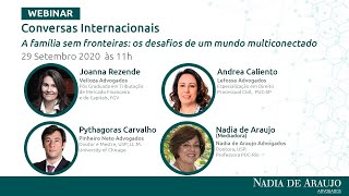 """Conversas Internacionais """"A família sem fronteiras: os desafios de um mundo multiconectado"""""""