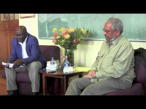 Africa Theorises: Tony Bogues and Achille Mbembe
