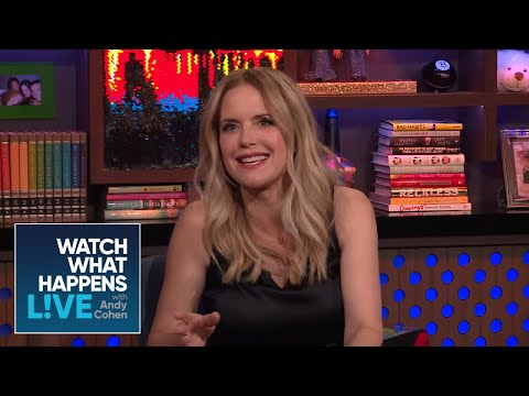 Kelly Preston duced Oprah Winfrey And Barbra Streisand  WWHL