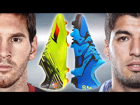 Messi VS Suarez - Battle: adidas Messi15 vs. X15 - Test & Review