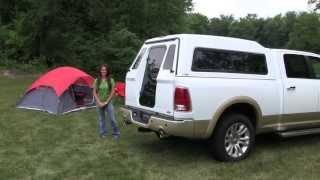 Full Walk-In Door - A.R.E. Truck Caps and Tonneau Covers