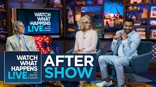 After Show: Ginuwine And Lia Grant's Lingering Kiss | WWHL