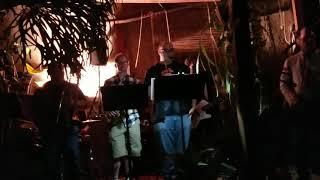 Jason Paige (Michael Jackson background vocalist) at a house show in LA