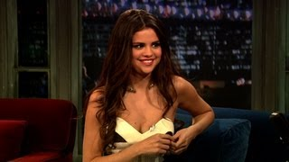"Jimmy shares a personal spring break story and asks selena about her experience making new film, ""spring breakers."" subscribe now to the tonight show sta..."
