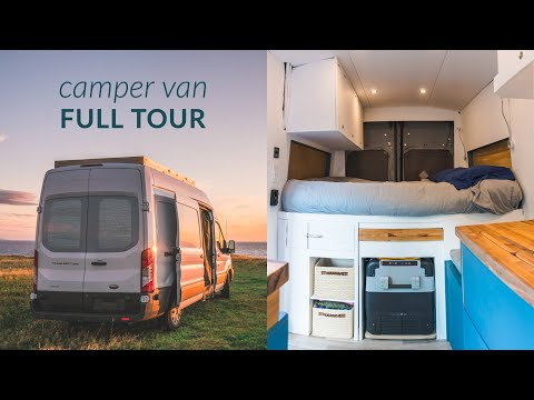 The Tour - Ford Transit Camper Van Conversion