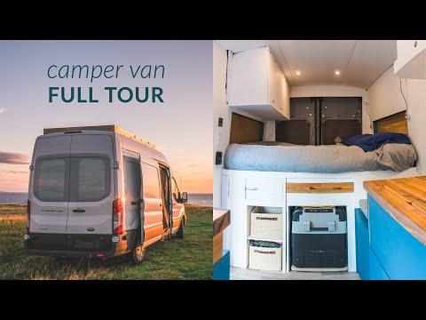 The Tour - Ford Transit Camper Van Conversion