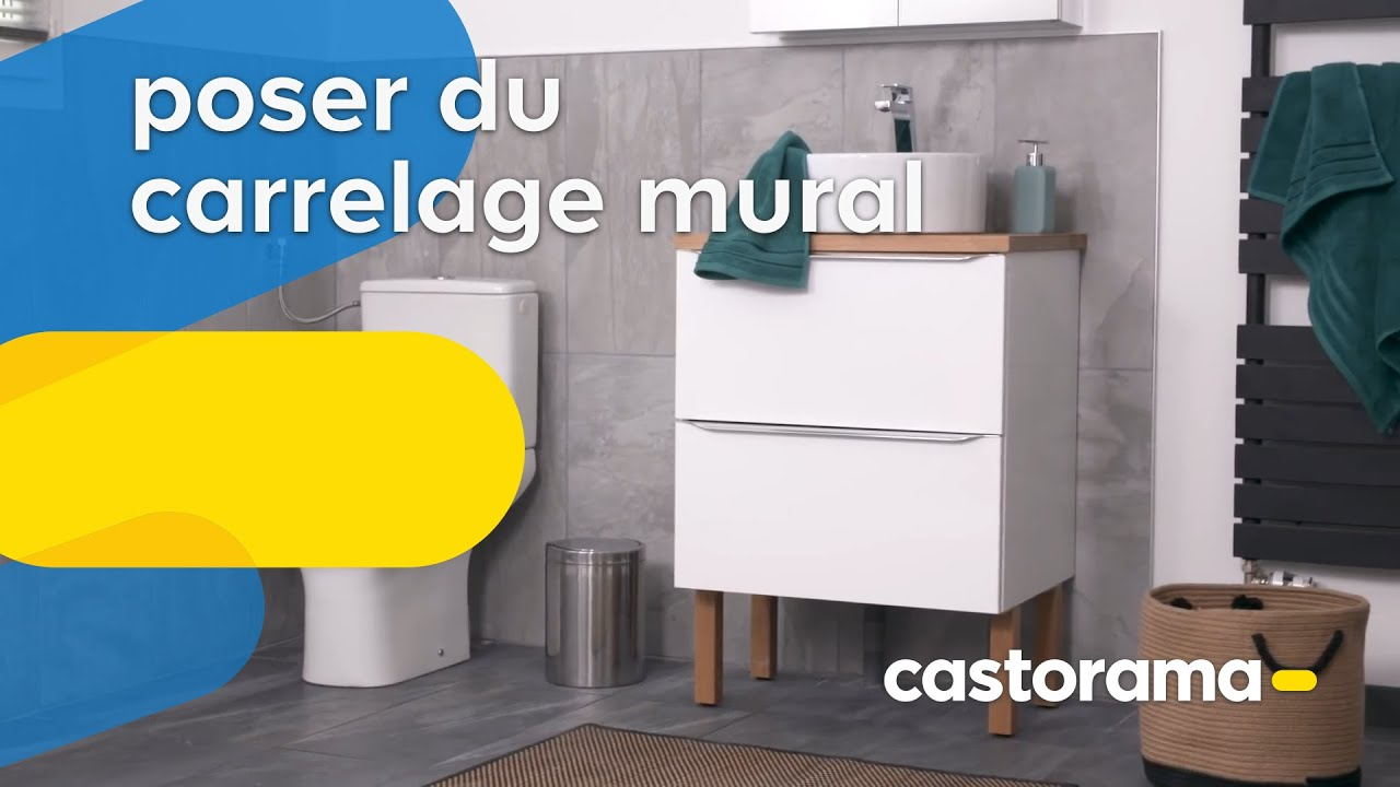 Comment Poser Du Carrelage Mural Castorama Youtube