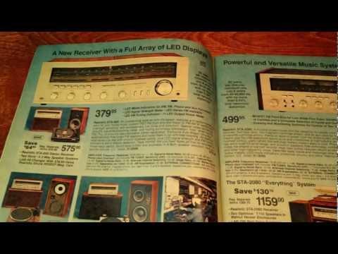 Vintage Electronics Catalog - ASMR Sleep Aid