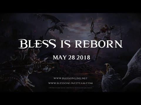 [Bless Online] Steam Announcement Trailer 2018