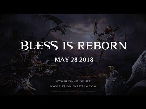 [Bless Online] Steam Announcement Trailer 2018