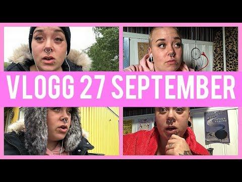 VLOGG 27 September | Tar Blodprover ♡