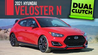 TWO CLUTCHES ONE HATCH 2021 Hyundai Veloster N DCT First Drive Review