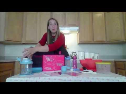 Tupperware Family Home Cook Starter Kit