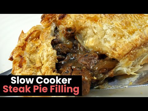 Rich And Chunky Slow Cooker Steak Pie