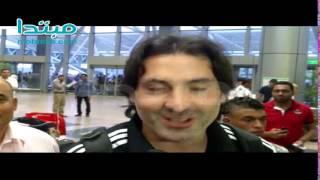 فيديو| محمود فايز: أقسم بالله لا توجد مشكلة بين لاعبى الأهلى والزمالك