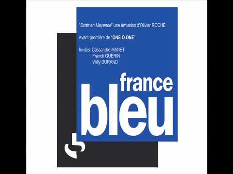 "INTERVIEWS FRANCE BLEU - ""ONE O ONE"" - Cassandre Manet, Franck Guérin et Willy Durand"