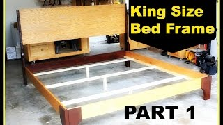 Diy: King Size Bed Frame - Part 1