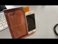 iPhone 5S / SE leather case review!