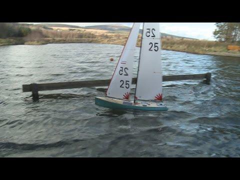 Sailing 1 Meter Class RC Yacht's @ Roundwood Ireland