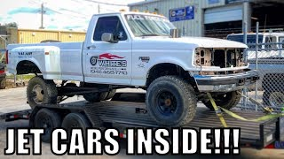 I Bought a Sled Pulling Truck!! Plus Some Drag Racing Inside!!