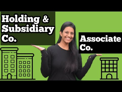 Unit 5 Part 5 Ll Holding , Subsidiary And Associate Company Ll Business Law Ll CA Kanika Khetan