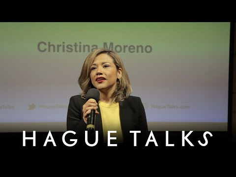 """Christina Moreno """"Equality Before the Law is a Basic Right"""" 