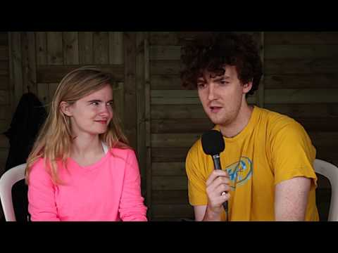 Clean Bandit Interview @ Secret Garden Party 2013 - Speaking to Different Drum with Jay Easton