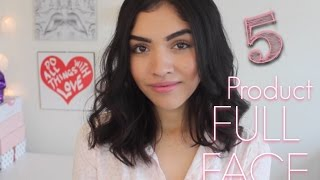 Baixar 5 Product Full Face Make-Up!! //MariaaGloriaa
