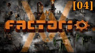 Прохождение Factorio 1.0 - Рельсовый мир [04] - Наука