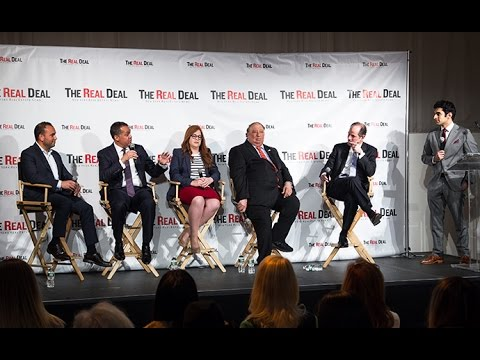 Eliot Spitzer, John Catsimatidis and Don Peebles at TRD Forum