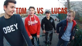 GAME OF SCOOT l Tom Thoretton VS Lucas Della Rosa