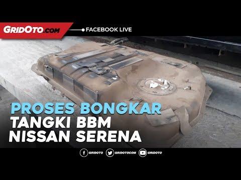 Proses Bongkar Tangki BBM Nissan Serena