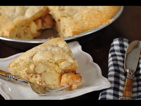 Apple Scone Cake Recipe Demonstration - Joyofbaking.com