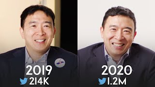 Andrew Yang: Same Interview, One Campaign Apart | Vanity Fair