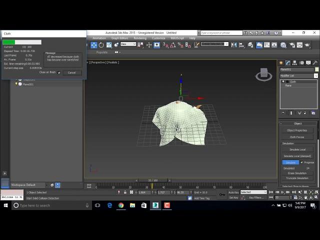 3D Animation - Cloth