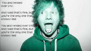 Ed Sheeran - Uni   Lyrics