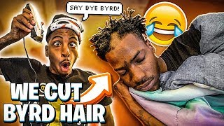 WE CUT BYRD HAIR!💔 (WE SHOULDN'T HAVE DONE THIS)