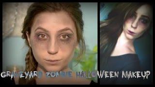 Halloween Makeup Graveyard Zombie | HeyThereBella | Thumbnail