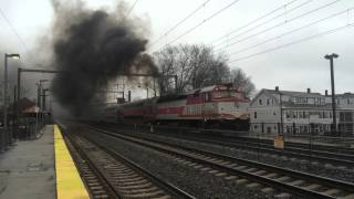 Mechanical problems on the Providence/Stoughton line Train #808