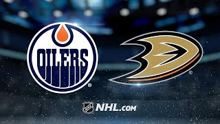 Lindholm, Gibson lead Ducks to 3-2 win against Oilers