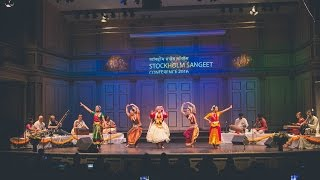 Stockholm Sangeet Allstars' premiere performance 2016