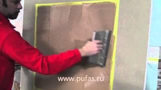видео Как сделать пробковый потолок