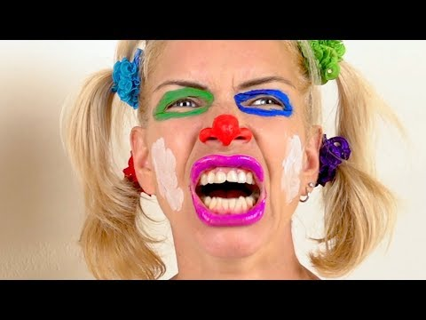 Fun Face Paint Lesson for kids - Popular Songs and Nursery R